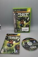 Tom Clancy's Splinter Cell Chaos Theory (Xbox) Tested - CIB Free Shipping