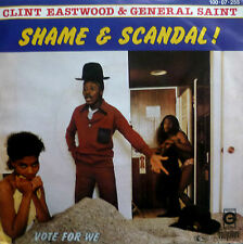 "7"" 60s CV 1984 RARE MINT- ! CLINT EASTWOOD & GENERAL SAINT : Shame And Scandal"