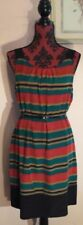 Unbranded Stripes Dresses for Women with Belt