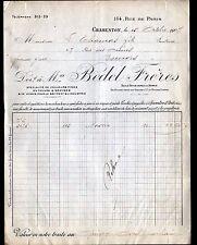 """BORDEAUX (33) Raffinerie / ESSENCE de TEREBENTHINE """"FONTANILHES & OKLE"""" 1907"""