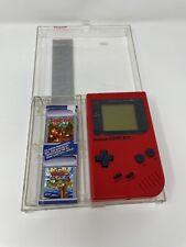 nintendo gameboy classic Red Zora Edition