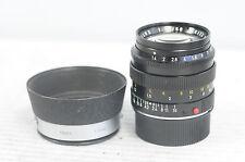 Leica Summilux-M 50mm F1.4 Lens with Cap & Hood