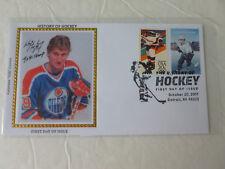 Wayne Gretzky Hockey Combo Stamp Fdc Sc#5252-53 Colorano Cachet Cover #2 (2017)