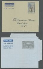 Sierra Leone collection of air letters (8)