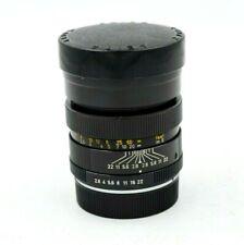 Leica Leitz Elmarit R f/2.8 90mm Lens 3 Cam Manual Focus Lens - R Mount w/ caps