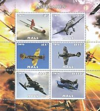 10x Transport Aviation Airplanes perf Private Local Issue not MNH
