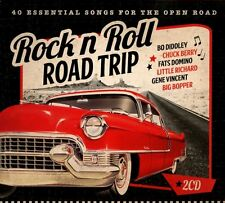 Rock n Roll Road Trip 40 Essential Songs for the Open Road 2 CD