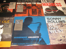 SONNY ROLLINS COLOSSUS MOVING WEST HORN MADNESS BIRD 6LP SET W/ RARE STICKERS