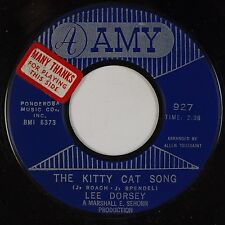 LEE DORSEY: Kitty Cat Song / Ride Your Pony USA AMY R&B w/ PROMO Sticker 45 NM-