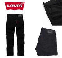 Levis 511 Jeans Original Black Night Shine Slim Fit Dark Black Stretch Denim