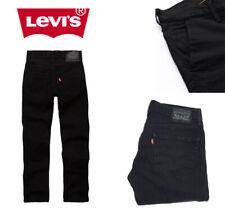 Levis 511 Original Jeans Black Night Shine Slim Fit Dark Black Stretch Denim