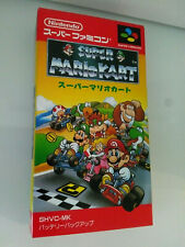 Super Mario Kart SNES Nintendo Super Famicom 1st Print of Legend New Rare Gem!