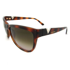 Valentino Sunglasses 614 215 Dark Havana Brown Gradient