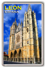 LEON ESPAÑA FRIDGE MAGNET IMAN NEVERA
