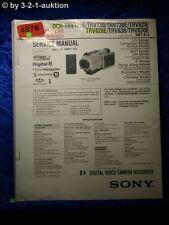 Sony Service Manual DCR TRV725E TRV730E TRV828E TRV830E Level 2 (#4876)