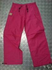 "Jungle Drawstring Parachute / Cargo Trousers Pink Max Waist 34"" - NEW"
