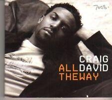 (BX564) Craig David, All The Way - 2005 DJ CD