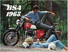 BSA Brochure All A65 models A50 B44 B25 Full 1968 Sales Catalog Catalogue REPRO