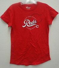 Cincinnati Reds GII M Womens Cap Sleeve Tee Shirt