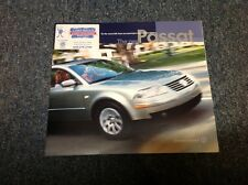 2001 VW Volkswagen Passat Catalog Brochure Book GLS GLX V6 Wagon