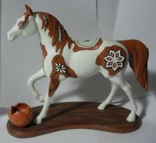 TRAIL OF PAINTED PONIES PUEBLO THE SPIRIT OF THE SEASON WP12300 MINT  EX DISPLAY