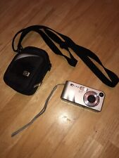 HP PhotoSmart M407 4.1MP Digital Camera - Silver With Case No Cords Or SD Cards