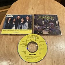 Devastation - Signs Of Life CD 1st US press morbid saint demolition hammer sadus