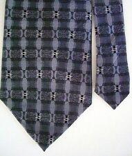 """Van Heusen Men's Silk Novelty Neck Tie Gray Multi 3 7/8"""" x 59"""""""