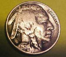 1924-D Buffalo Nickel ~Sharper Gem Circulated ~Scarce Early Date ☆Make An Offer☆