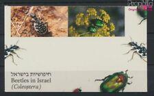 israël 1287-1290 carnet de timbres carnet timbres neuf 1994 coléoptère (9030146