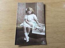 "POSTCARD - actress - Miss Gladys Cooper's little daughter JOAN ""British Child"""