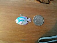 fish charm / pendant enamel