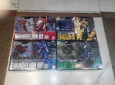 Evangelion Tamashii SOUL OF CHOGOKIN spec Eva 00 machine gun blue yellow 01 02