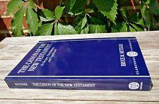 The Canon of New Testament: Origin Development & Significance Metzger Oxford VG!