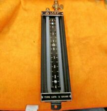 JAY Instruments Type 1370-8 U-Tube Manometer Range 4-0-4 NSN 6685-00-273-7005