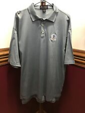 Blue Gray Golf Polo XL Eleven Straight Byron Nelson short sleeve Chrysler