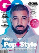 GQ Magazine FRENCH September 2016 DRAKE  Kim Kardashian NEW