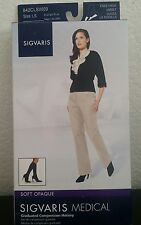 Sigvaris WOMEN'S 20-30 mmHg Knee High medical compress Stockings 84CLSW09 SizeLS