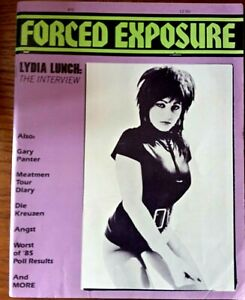 Forced Exposure - Issue 10 1986 Lydia Lunch Cover and Interview.
