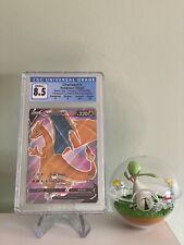 Pokemon Champion's Path CHARIZARD V SWSH050 Black Star Promo CGC 8.5 NM/Mint