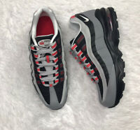 Nike Air Max '95 Shoes 905348 036 Size: 7Y/ 8.5 Woman Particle Grey/ White-black