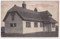 Small Holder's Cottage Hollesley Bay Suffolk 1908 Postcard, B710