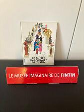 Tintin : le Musée imaginaire Livre + Poster / Affiche