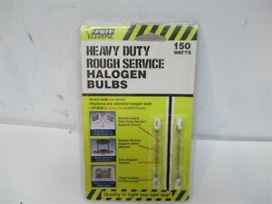 Feit Electric BPQ150T3/CL/S/RS/2 , Heavy Duty Rough Service Halogen Bulbs (2 PK)