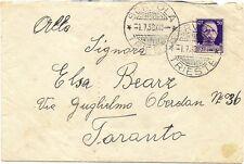 P7602   Trieste, Servola, annullo guller con sbarrette 1938