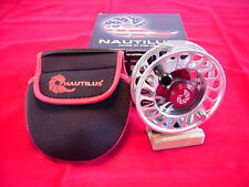 Nautilus Fly Reel Model CCF-X2 810 Silver Made in USA GREAT NEW