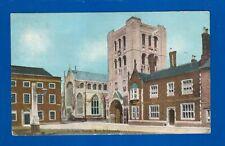 Postcard St James Church Bury St Edmunds Suffolk pub. Christian Novels pre-1914