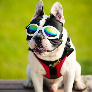 5 Colors Pet Dog UV Sunglasses Adjustable Sun Glasses Goggles EyeWear For Puppy