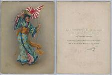 T7 Turkish Trophies, Hamilton King Girls Flag, 1910, #65 Japan