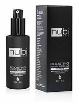 Nubi Boosting Hair Serum with Marula Oil, Vitamin E and Aloe Vera, 2 Fl. Oz./ 60